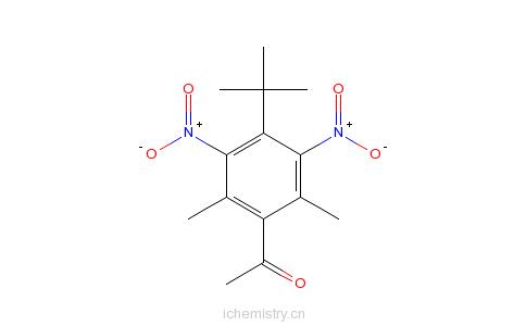 CAS:81-14-1_酮麝香的分子结构