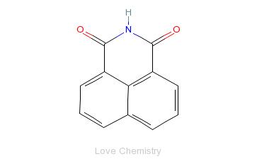 CAS:81-83-4_萘亚胺的分子结构