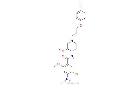CAS:81098-60-4_西沙必利的分子结构