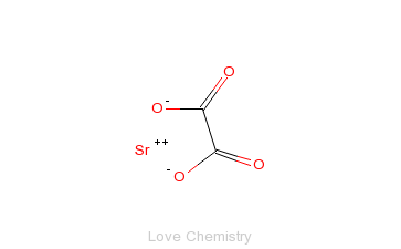 CAS:814-95-9_草酸锶的分子结构