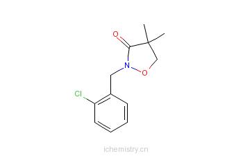 CAS:81777-89-1_异恶草酮的分子结构