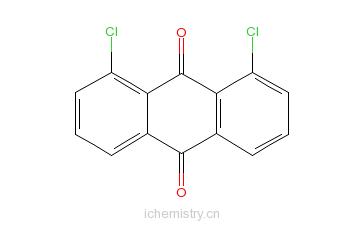 CAS:82-43-9_1,8-二氯蒽醌的分子结构