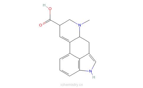 CAS:82-58-6_麦角酸的分子结构