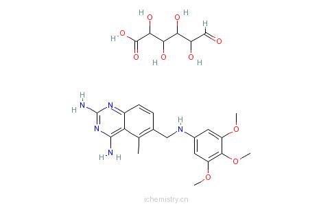 CAS:82952-64-5_葡醛酸三甲曲沙的分子结构