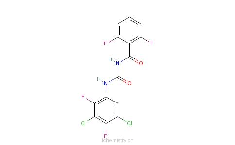 CAS:83121-18-0_氟苯脲的分子结构