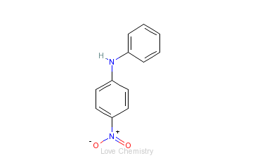 CAS:836-30-6_4-硝基二苯胺的分子结构