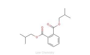 CAS:84-69-5_邻苯二甲酸二异丁酯的分子结构