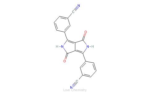CAS:84632-50-8_颜料橙71的分子结构