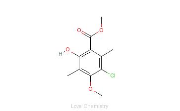 CAS:85098-93-7的分子结构