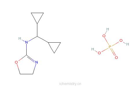 CAS:85409-38-7_磷酸利美尼定的分子结构