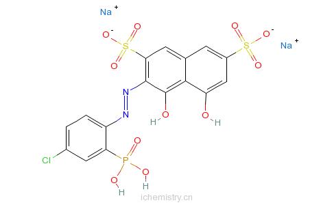 CAS:85561-96-2_偶氮氯磷I的分子结构