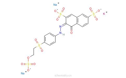 CAS:85940-65-4_C.I.活性橙15的分子结构
