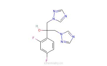 CAS:86386-73-4_氟康唑的分子�Y��