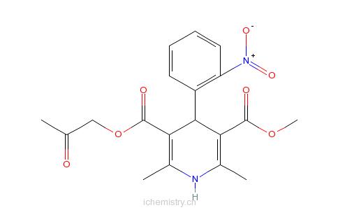 CAS:86780-90-7_阿雷地平的分子结构