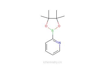 CAS:874186-98-8_2-吡啶硼酸频哪醇酯的分子结构