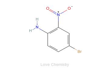 CAS:875-51-4_4-溴-2-硝基苯胺的分子结构