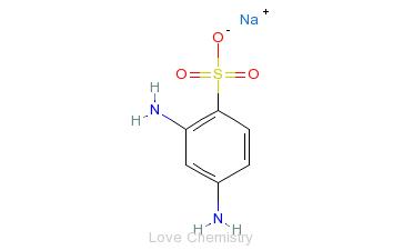 CAS:88-63-1_2,4-二氨基苯磺酸的分子结构