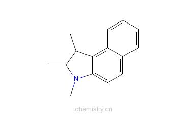 CAS:881219-73-4_1,2,3-三甲基-1H-苯并[e]吲哚的分子结构