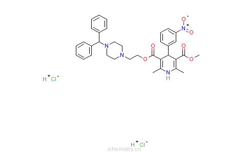 CAS:89226-50-6_马尼地平的分子结构