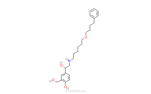 CAS:89365-50-4_沙美特罗的分子结构