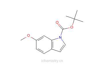 CAS:898746-82-2_N-BOC-6-羟基吲哚的分子结构