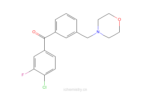 CAS:898791-83-8的分子结构