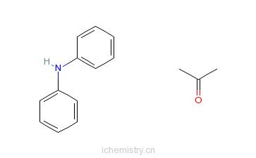 CAS:9003-79-6_2-丙酮与N-苯基苯胺的聚合物的分子结构