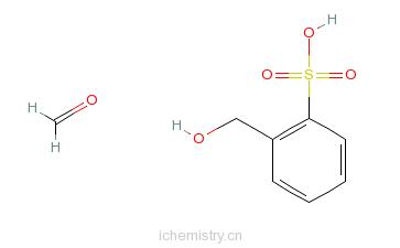 CAS:9011-02-3_聚甲酚磺醛的分子结构