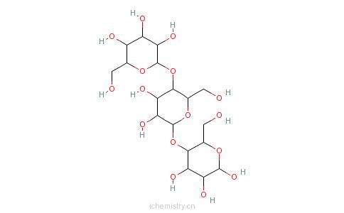 CAS:9041-22-9_beta-D-葡聚糖的分子结构