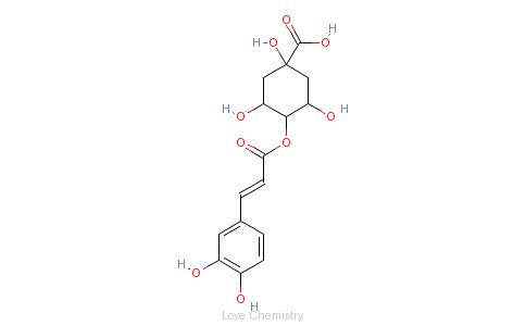 CAS:905-99-7_隐绿原酸的分子结构