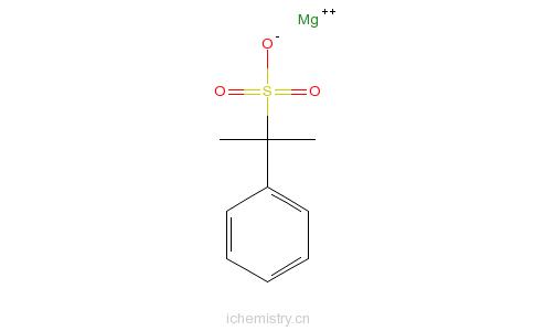 CAS:90959-88-9_(1-甲基乙基)苯磺酸镁的分子结构