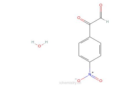 CAS:92304-49-9_4-硝基苯基乙二醛水合物的分子结构