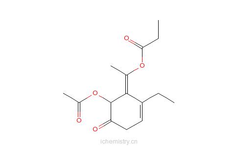 CAS:92397-13-2_2-乙酰氧基-&alpha的分子结构
