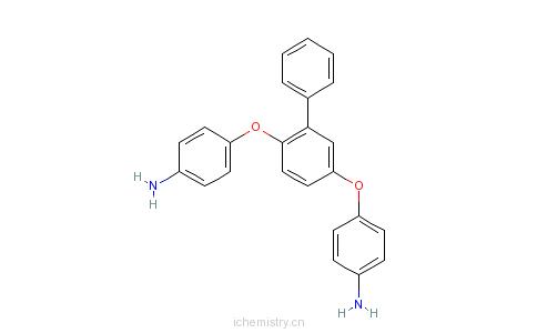 CAS:94148-67-1_1,4-二(4-氨基苯氧基)-2-苯基苯的分子结构