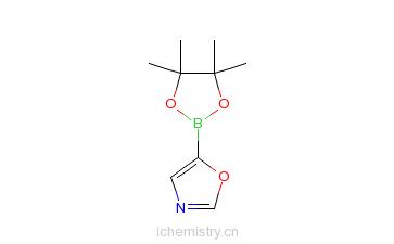 CAS:942070-84-0_�f唑-5-硼酸频那醇酯的分子结构