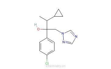 CAS:94361-06-5_环唑醇的分子结构