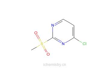 CAS:97229-11-3_4-氯-2-甲磺酰基嘧啶的分子结构