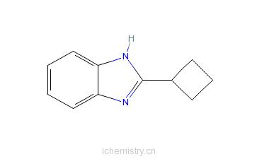 CAS:97968-80-4_2-环丁基苯并咪唑的分子结构