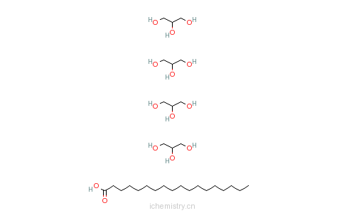 CAS:99570-00-0_十八烷酸-四甘醇五酯的分子结构