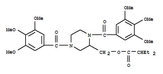 CAS:129229-96-5的分子结构