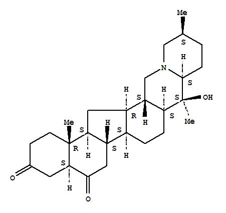 CAS:23521-53-1的分子结构