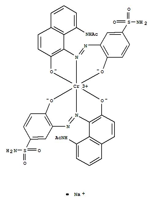 CAS:24305-97-3_C.I.酸性红112的分子结构