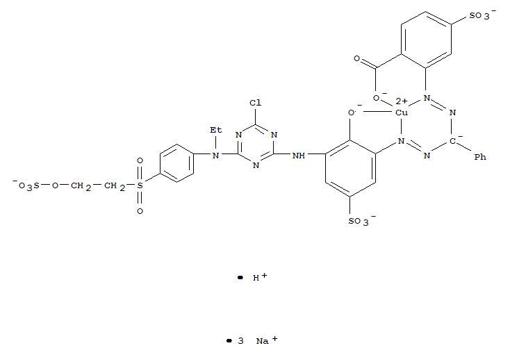 CAS:86024-59-1_C.I.活性蓝221的分子结构