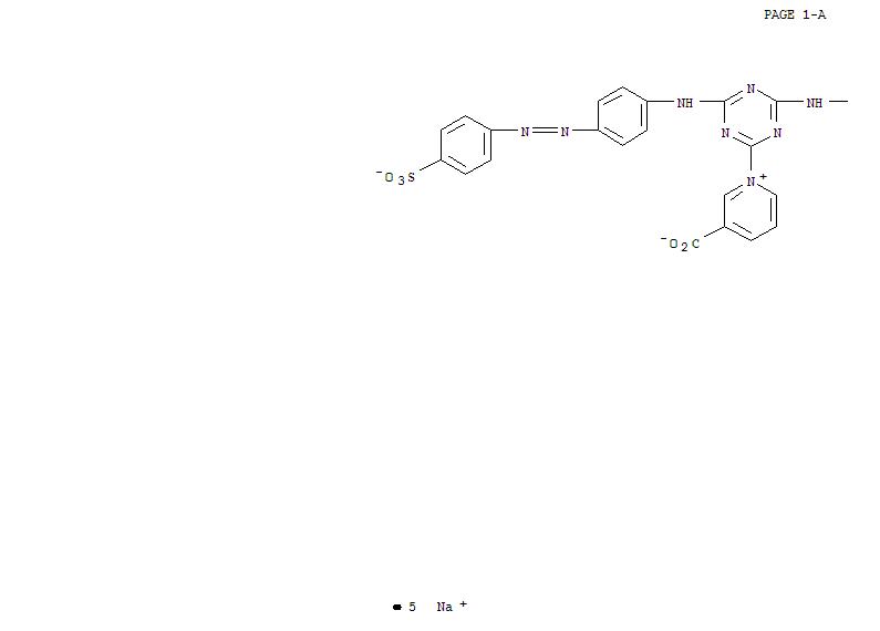 CAS:96293-54-8_C.I.活性棕47的分子结构