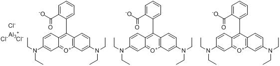 CAS:12227-77-9_颜料红173的分子结构