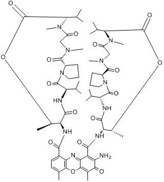 CAS:50-76-0分子结构
